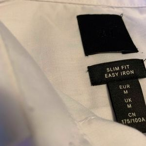 H&M Shirts - H&M Mens White Button Down.